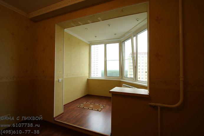Отделка балкона и лоджии п 44 т.